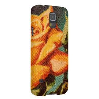Gelbe Rose Samsung Galaxy S5 Cover