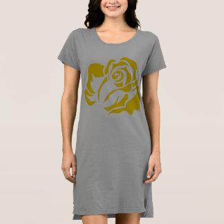 Gelbe Rosen-Blüte kundengerecht Kleid
