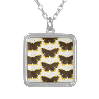 Gelbe Schmetterlinge Versilberte Kette