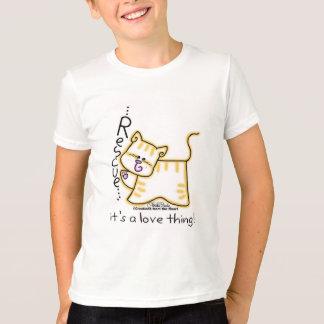 Gelbe Tabby-Rettung… ist es eine Liebesache! T-Shirt