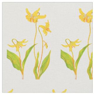Gelbe Tulpe Stoff