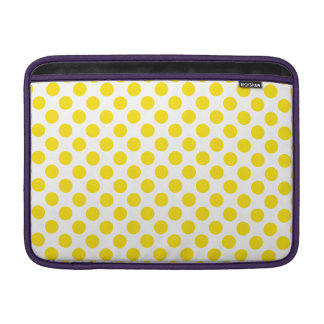 Gelbe Tupfen MacBook Air Sleeve