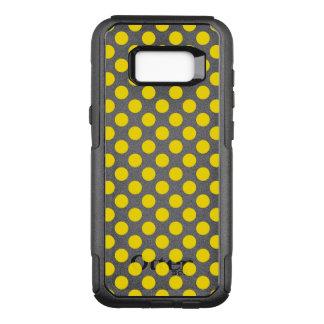 Gelbe Tupfen OtterBox Commuter Samsung Galaxy S8+ Hülle