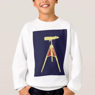 Gelbe und rote Ferngläser Sweatshirt