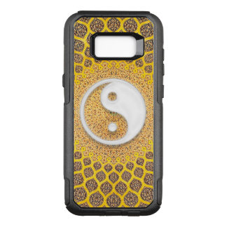 Gelbe Ying Yang Mandala OtterBox Commuter Samsung Galaxy S8+ Hülle