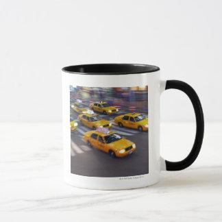 Gelben Taxis New York Tasse