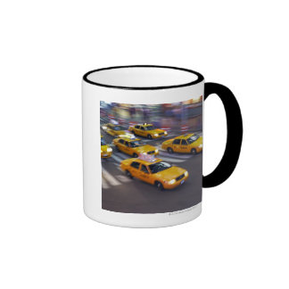 Gelben Taxis New York Kaffeetassen