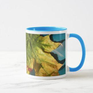 Gelber Herbst Tasse