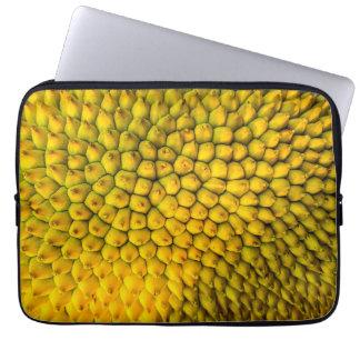 Gelber Jackfruit Laptopschutzhülle