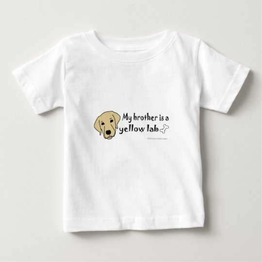 gelber Labrador Baby T-shirt