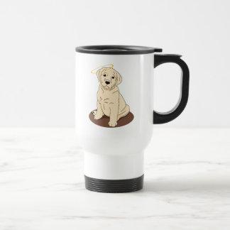 Gelber Labrador retriever-Engel Reisebecher