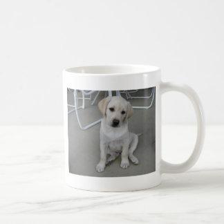 Gelber Labrador retriever-Welpe Kaffeetasse