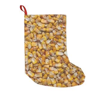 Gelber Mais Kleiner Weihnachtsstrumpf