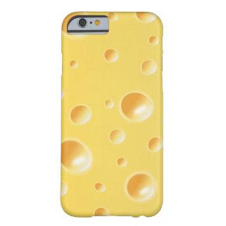 Gelber Schweizer Käse-Scheibe-Beschaffenheit Barely There iPhone 6 Hülle