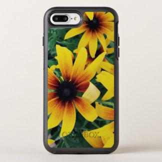 Gelber Sommer-Blumen-Telefon-Kasten OtterBox Symmetry iPhone 8 Plus/7 Plus Hülle