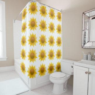 Gelber SonnenblumeDuschvorhang Duschvorhang