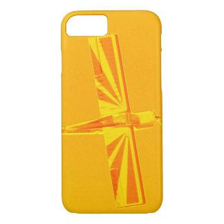 Gelber und orange Flugzeug kaum dort iPhone 7 iPhone 8/7 Hülle
