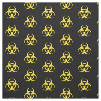 Gelbes Biogefährdung-Symbol Stoff