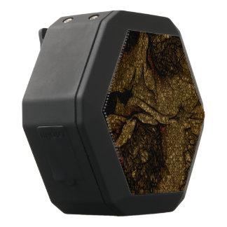 Gelbes Brown-Blumen Schwarze Bluetooth Lautsprecher