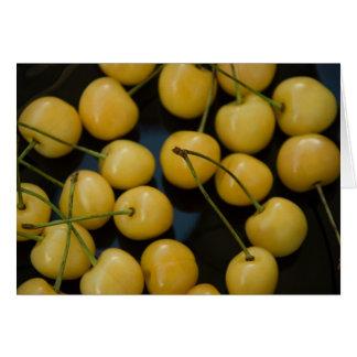 gelbes cherries_1 karte