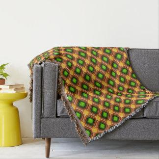 Gelbes Edelstein-Muster Decke