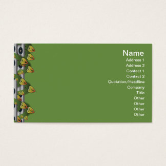 Gelbes Gras Visitenkarte