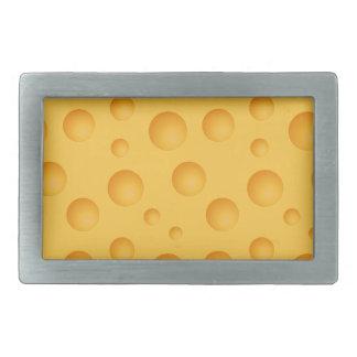 Gelbes Käse-Muster Rechteckige Gürtelschnalle
