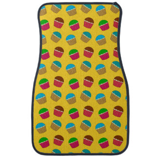 Gelbes Kuchenmuster Automatte