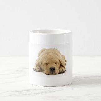 Gelbes Labrador retriever Tasse