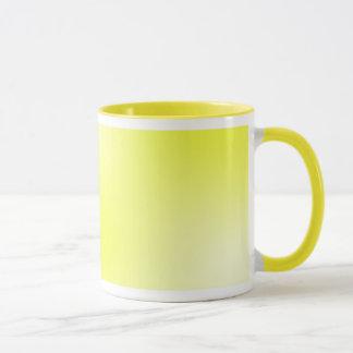 Gelbes Licht Tasse