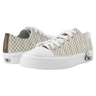 Gelbes Louis Vuitton reden niedrige Spitzenschuhe Niedrig-geschnittene Sneaker