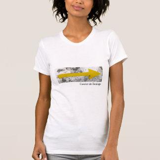 Gelbes Pfeil-Shirt T-Shirt