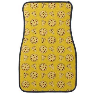 Gelbes Pizzamuster Automatte