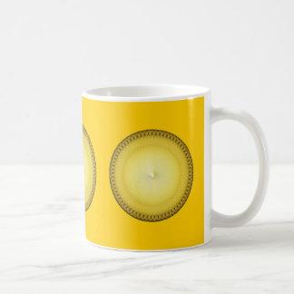 Gelbes Plafond Kaffeetasse