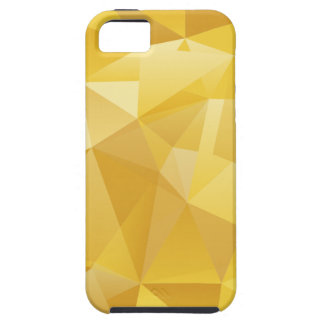 Gelbes Polygon iPhone 5 Cover