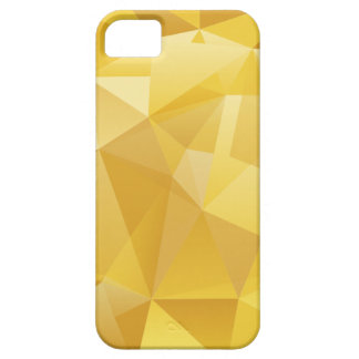 Gelbes Polygon iPhone 5 Etui