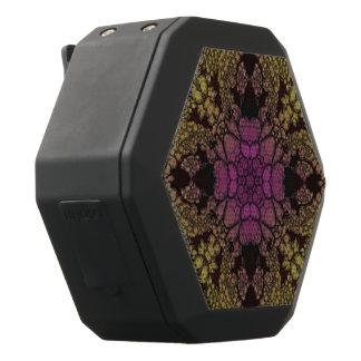 Gelbes rosa lila abstraktes schwarze bluetooth lautsprecher