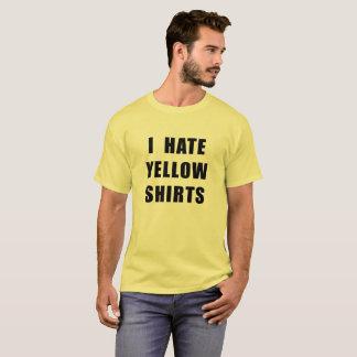Gelbes Shirt hasse der gelben Shirts der Männer