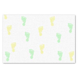 Gelbes u. grünes Seidenpapier der