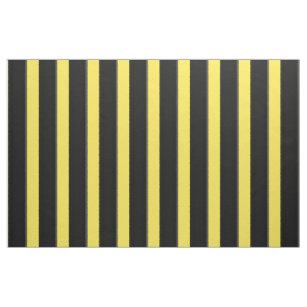Gelbes u. schwarzes Biene Ähnliches Stoff