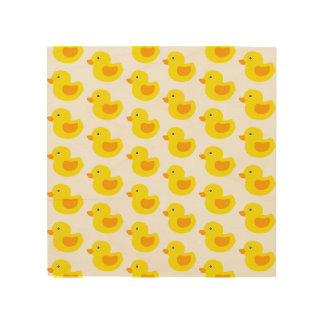 Yellow and Orange Baby Rubber Ducky for Kids