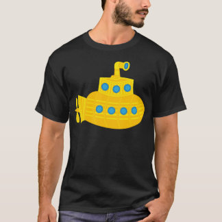 Gelbes Unterseeboot T-Shirt