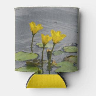 Gelbes Wasser-Lilien machen cooleres ein