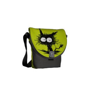 Gelbgrün-Unkempt Kätzchen GabiGabi Kuriertasche