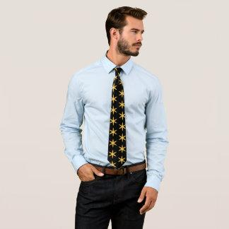 Gelbsterne Krawatten