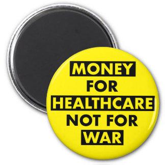 Geld für Gesundheitswesen nicht für Runder Magnet 5,1 Cm