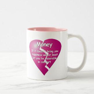 Geld - > Komfort-Tasse Zweifarbige Tasse