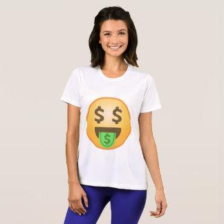 Geld-Mund Emoji T-Shirt