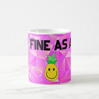 Geldstrafe als Ananas 11 Unze. Tasse