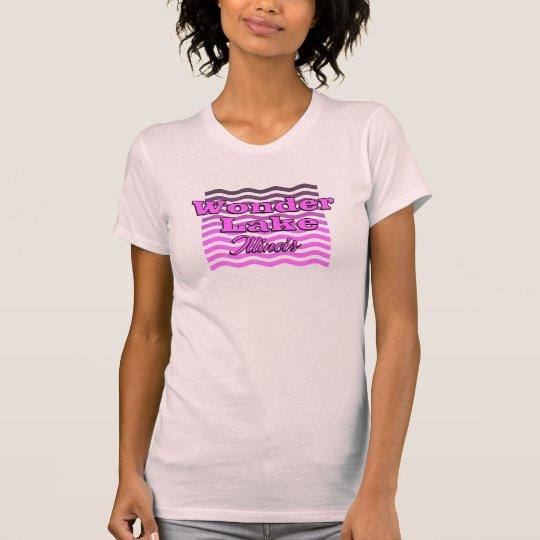 Geldstrafe-Jersey-T - Shirt der Wellen-Frauen